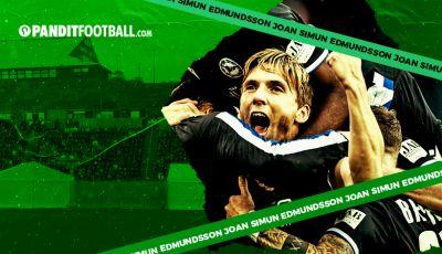 Joan Simun Edmundsson, Pencetak Gol Pertama asal Kep. Faroe di Bundesliga