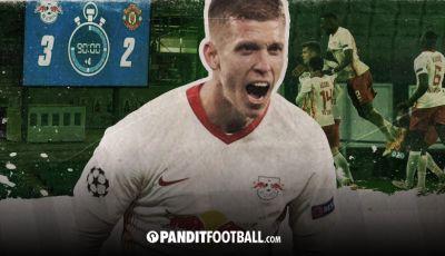 Leipzig Menunjukkan Cara Memanfaatkan Lebar Lapangan ke Manchester United