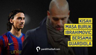 Kisah Masa Buruk Ibrahimovic Bersama Guardiola