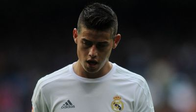 Tak Ada Tempat bagi James Rodriguez di Real Madrid