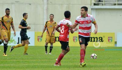 Performa Madura United Melempem di Putaran Kedua