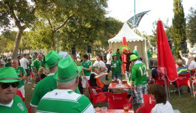 Aksi Suporter Irlandia, Suporter Paling Jenaka di Piala Eropa