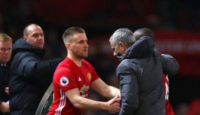 Panas Dingin Hubungan Luke Shaw dan Jose Mourinho