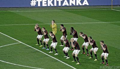 Misteri `Tarian Haka` a la AC Milan