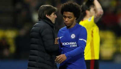Willian dan Conte Tak Harmonis