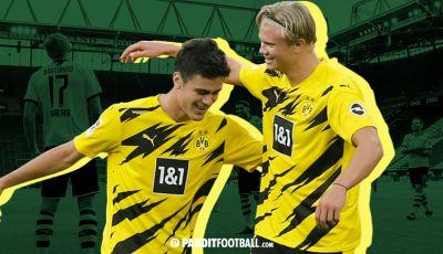 Duet Penyerang Anyar Borussia Dortmund: Haaland-Reyna