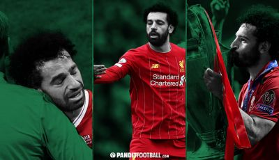 Menangis, Bangkit, Mohamed Salah