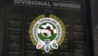 Tiga Hal dari PFA Team of the Year Musim 2015/2016