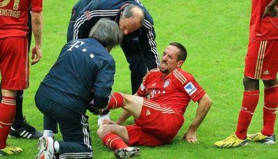 Lebih dari 50 Cedera Dialami Ribery