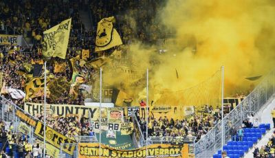 Protes Lama Suporter Dortmund kepada RB Leipzig yang Bersemi Kembali