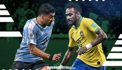 El Clasico del Rio Negro, Rivalitas Sengit Uruguay vs Brasil